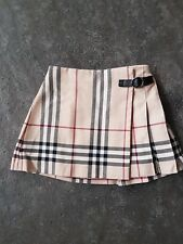jupe plissee burberry 2 ans