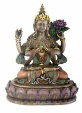 Avalokiteshvara Buddha Statue Sculpture Figure - GIFT BOXED