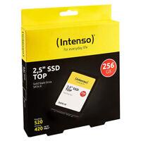 """kQ Intenso 2,5"""" SSD intern TOP 256 GB SATA III Festplatte Solid State Drive"""