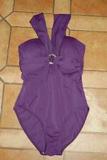 Badeanzug lila Gr. 38 B