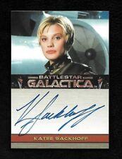 2005 Battlestar Galactica Premiere Edition Katee Sackhoff Autograph as Starbuck