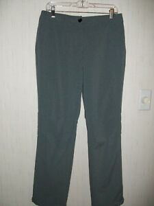 NIKE, Golf Pants, Gray- Polyester/ Spandex Blend - for Ladies Size 8.