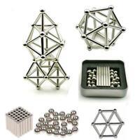 63pcs Magnetic Building Blocks Magnet Construction Set Kids Puzzle Toy Games