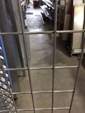GALVANIZED STEEL MESH PANEL 2MTR X 1.2MTR - 75mm X 50mm