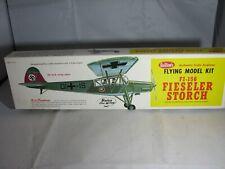 FI-156 Fieseler Storch R/C Balsa Kit Rare clean complete!