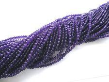 Jade violett 4mm Perlen Kugeln rund Schmuckperlen 1 Strang