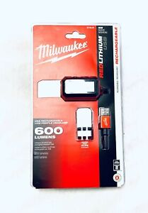 Milwaukee 2115-21 REDLITHIUM USB Rechargeable Low-Profile Headlamp New