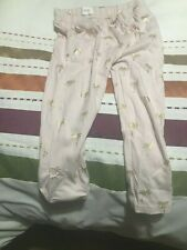 Next Palm Tree Motif Pinkish Colour Pyjama Bottoms - Size 2-3 Years Old