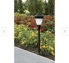 Low-Voltage LED 1.5-Watt Black Landscape Pathlights
