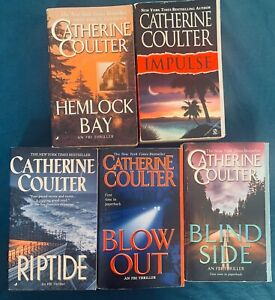 Catherine Coulter FBI thrillers -  Secondhand used books fiction