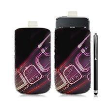 coque étui pochette pour Apple Ipod Touch 1G/2G/3G avec HF07 + t Luxe
