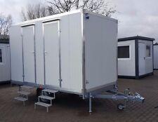 WC Anhänger Toilettenwagen mobile Toilette mit Dusche Duschwagen WC Wagen