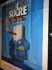 LE SUCRE Gérard Depardieu  affiche cinema ferracci 1978