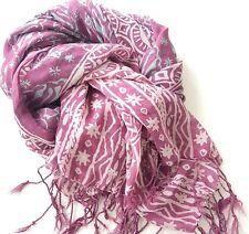 Genuine Javanese batik scarf wrap stole - perfect gift for women handmade