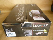 Lexmark C500S2YG Standard Yield Yellow Toner Cartridge Genuine