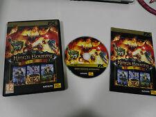 KING´S BOUNTY ANTHOLOGY 3 JUEGOS PC DVD-ROM ESPAÑOL FX INTERACTIVE KATAURI