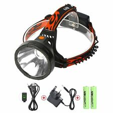 LED Head Torch USB Rechargeable Neolight Waterproof CREE Headlamp Headlight NEW