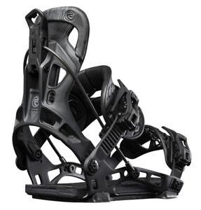 2022 FLOW NX2 Hybrid Snowboard Bindings NEW Large (7.5-11) NEW Black