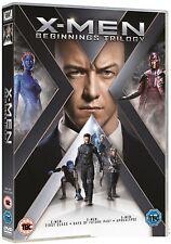 X-MEN: BEGINNINGS TRILOGY:  DVD - First Class, Days of Future Past, Apocalypse