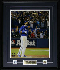 Jose Bautista Toronto Blue Jays Bat Flip Home Run 2015 AL Finals Color 16x20