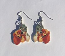 Lady and the Tramp Earrings Charms