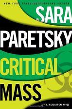 Critical Mass (A V.I. Warshawski Novel) by Sara Paretsky