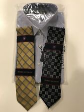 Tommy Hilfiger Dress Shirt and Henry Jacobson Ties