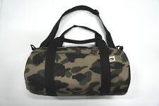Bape Green Camo Travel Gym Sport Canvas Duffle Carry Shoulder Hand Bag Luggage
