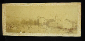 Photography c1860 Place of / The Government Statue Duke D'Orleans Algiers