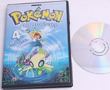 Pokemon Collectors Set: 4 movies / double sided DVD