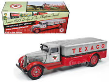 "1935 DODGE 3-TON TRUCK ""TEXACO"" SERIES #33 METAL/RED 1/38 AUTOWORLD CP7411"