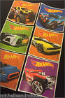 Hot Wheels Stickers x 6 - Birthday Party Loot - Cars Party Hot Wheels Birthday