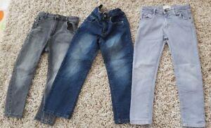 Boys Age 7-8 Jeans Bundle River Island Next Zara Inc Skinny