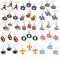 necklace & earring set charm dangle pendant NCAA PICK YOUR TEAM