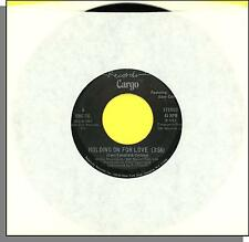 "Cargo (Featuring Dave Collins) - Holding On For Love - 1982 7"" 45 RPM Single!"
