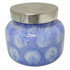 Capri Blue Signature Blue Jean Candle, Watercolor Glass Jar, 19oz