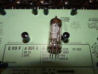Röhre Valvo E90F Tube 8,5 mA Valve auf Funke W19 geprüft BL-1828