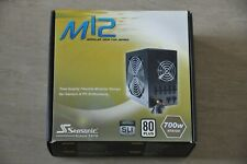 Seasonic M12 700W ATX Semi Modular Power Supply - Boxed with manual and cables