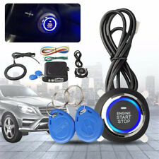 Car Engine Push Start Button Engine Lock Ignition Keyless Entry Stop Immobilizer
