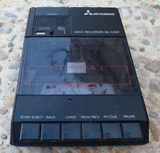 Mitsubishi ML-10DR reproductor/grabador cassette ideal ordenador 8 bit MSX, ZX..