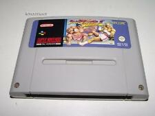 Street Fighter II Turbo Super Nintendo SNES PAL Preloved