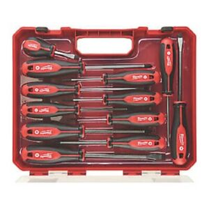 Milwaukee 12 Piece  handle Screwdriver Set Magnetic  4932472003