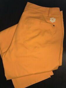 Puma Men's Sport Lifestyle Orange Dry Cell Golf Pants - Size 36 x 32