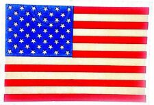 Original Vintage American Flag Iron On Transfer Usa