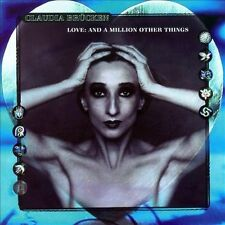 CLAUDIA BRUCKEN Love: And A Million Other Things 2x CD OOP Act OneTwo Propaganda