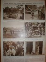 Photo article massacre in Bekasi Java Indonesia 1946