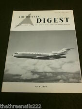 AIR BRITAIN DIGEST - MAY 1965 - TOPDRESSING BY DC-3