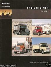 Truck Brochure - Freightliner - FL 50 60 70 et al - FLD 1125D 1205D 2001 (TB122)