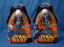 AAYLA SECURA & PLO KOON Jedi Hologram Transmission Figures ROTS 66 & 67 MOC NEWT