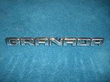 Emblem / Badge Ford Granada, ca. 19 cm lang, 3 Befestigungsstifte Pins